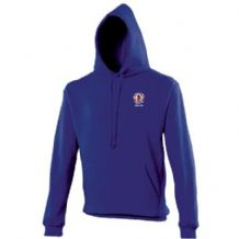 Taughmonagh FC Youth Hoodie- Royal Blue Adults 2018